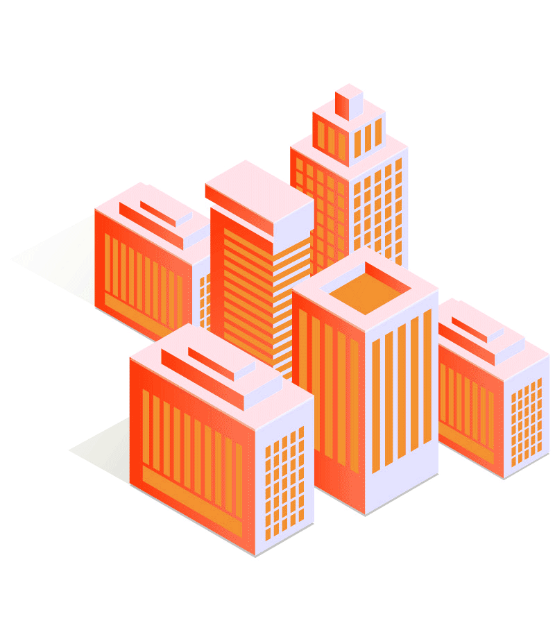offices-isometric-orange